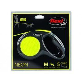 Vodítko FLEXI Classic New Neon lanko M