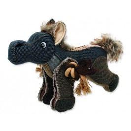 Hračka DOG FANTASY textilní kůň 33 cm