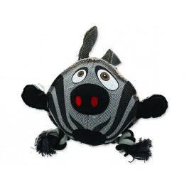 Hračka DOG FANTASY textilní zebra 28 cm