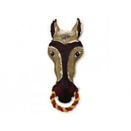Hračka DOG FANTASY textilní kůň 34 cm