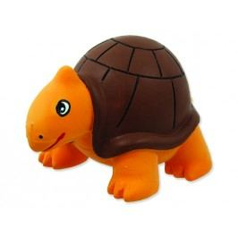 Hračka DOG FANTASY Latex želva se zvukem 8 cm