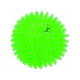 Hračka DOG FANTASY míček LED zelený 10 cm