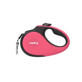 Reedog Senza Premium samonavíjecí vodítko XS 12kg / 3m páska / růžové