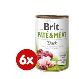 Brit Paté & Meat Duck 6x400g