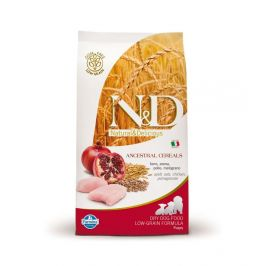 N&D LG DOG Puppy Mini Chicken & Pomegr 2,5 kg