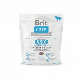 Brit Care Grain-free Junior Large Breed Salmon 1kg