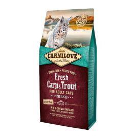 Carnilove Fresh Carp & Trout Sterilised for Adult cats 6 kg