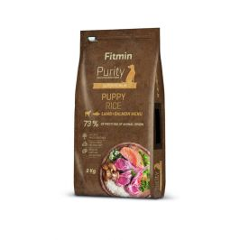 Fitmin Dog Purity Rice Puppy Lamb & Salmon 2 kg