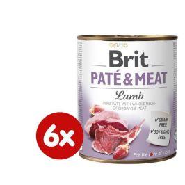 Brit Paté & Meat Lamb 6x800g