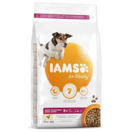IAMS Dog Senior Small&Medium Chicken 3 kg