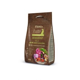 Fitmin Dog Purity Rice Semimoist Rabbit & Lamb 4 kg