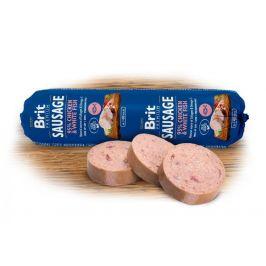 Brit Sausage Chicken & White Fish 12 x 800 g