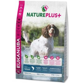Eukanuba Nature Plus+ Adult Medium Breed Rich in freshly frozen Salmon 2,3kg