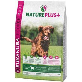 Eukanuba Nature Plus+ Puppy & Junior Rich in freshly frozen Lamb 2,3kg