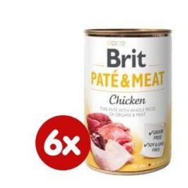 Brit Paté & Meat Chicken 6x400g