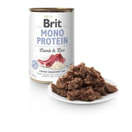 Brit Mono Protein Lamb & Brown Rice 6x400g