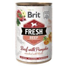Brit Fresh Beef with Pumpkin 6x400g