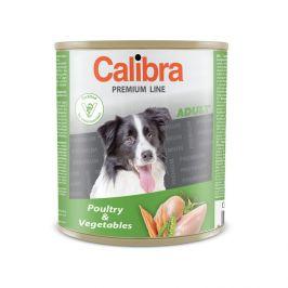 Calibra Dog Premium Adult drůbeží + zelenina, 800g