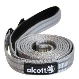 Alcott Reflexní vodítko pro psy, šedé vel. L