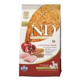 N&D LG DOG Senior S/M Chicken & Pomegr 2,5 kg