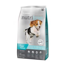 Nutrilove Dog Dry Junior Small&Mini Fresh Chicken 1,6 kg