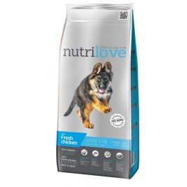 Nutrilove Dog Dry Junior Large Fresh Chicken 3 kg