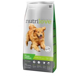 Nutrilove Dog Dry Mature 7+ Fresh Chicken 3 kg