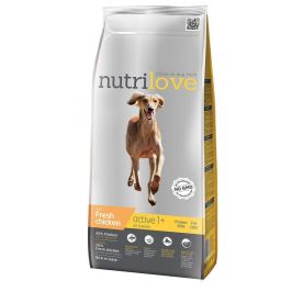 Nutrilove Dog Dry Active Fresh Chicken 3 kg