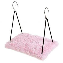 O´ lala Pets Závěsná polička Soft 34x52 cm růžová