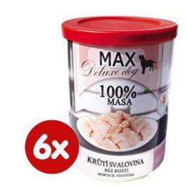 FALCO MAX deluxe krůtí svalovina bez kosti 6x400g