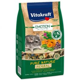 Vitakraft Emotion herbal činčila 600 g
