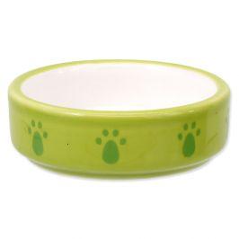 SMALL ANIMAL Miska keramická pro křečky zelená 8,5 cm