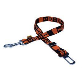 BAFPET Poutací pás do auta, popruh 49-78 cm oranžová