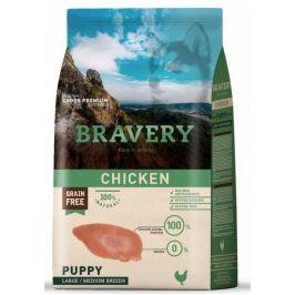 Bravery Dog PUPPY Large / Medium Grain Free chicken 12 kg