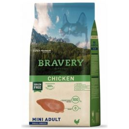Bravery Dog ADULT MINI Grain Free chicken 2 kg