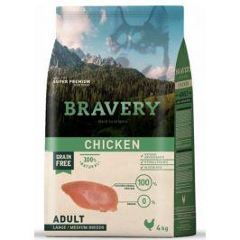 Bravery Dog ADULT Large / Medium Grain Free chicken 4 kg