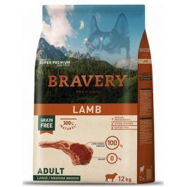 Bravery Dog ADULT Large / Medium Grain Free Lamb 12 kg