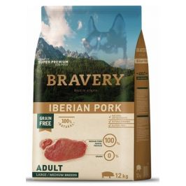 Bravery Dog ADULT Large / Medium Grain Iberian pork 12 kg