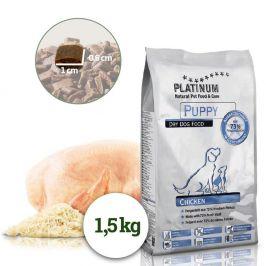 Platinum Natural Puppy Chicken - Pro štěňata 1,5 kg