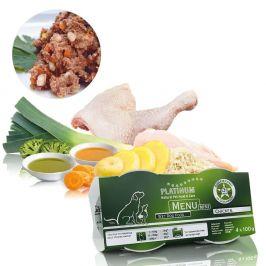Platinum Natural Menu Mini Chicken 4×100 g