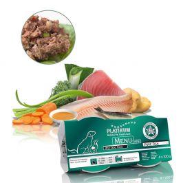 Platinum Natural Menu Mini Pure Fish 4×100 g