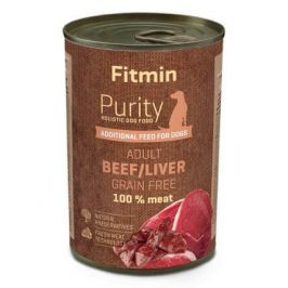 Fitmin Dog Purity tin beef with liver 400 g
