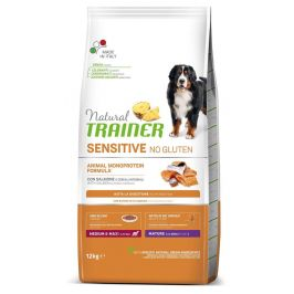 TRAINER Natural SENSITIVE No gluten Maturity M/M losos 12 kg