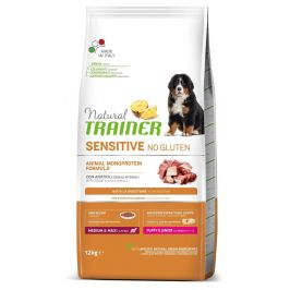 TRAINER Natural SENSITIVE No gluten Puppy&Jun M/M kachna 12 kg