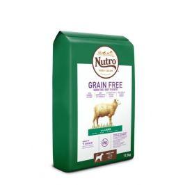 Nutro Grain Free granule s jehněčím pro dospělé psy 11,5 kg