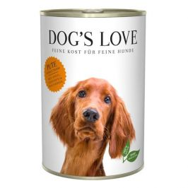 Dog's Love konzerva Adult Classic krocan 400 g