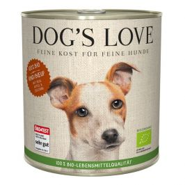Dog's Love konzerva 100 % BIO Organic hovězí 800 g