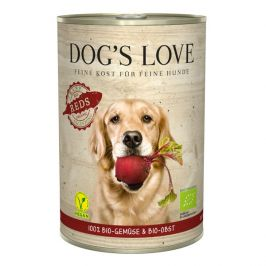 Dog's Love konzerva B.A.R.F. 100 % BIO Vegan reds 400 g
