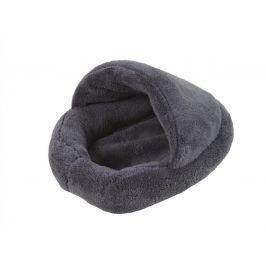 O´ lala Pets Pelíšek pro hlodavce papuče 31×24 cm šedý