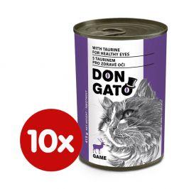 Dibaq DON GATO konzerva kočka zvěřina 10x415 g